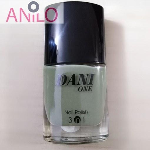 لاک دنی وان مدل nail polish 3 in 1 شماره 37 حجم 9 میل