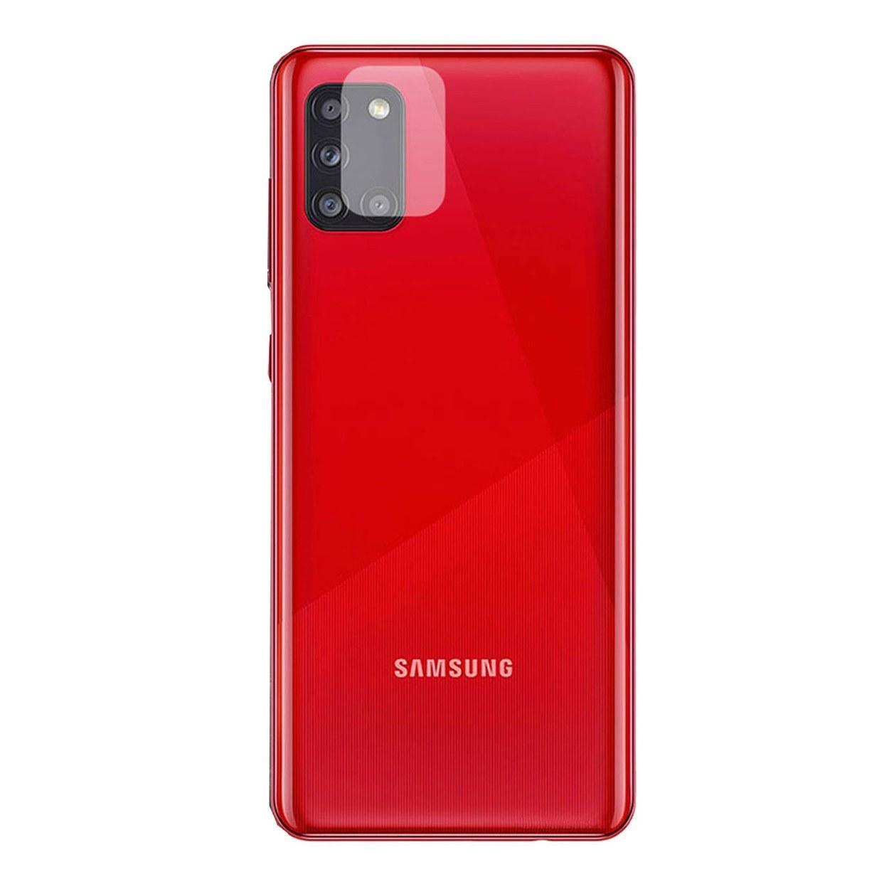 تصویر محافظ لنز دوربین مدل SA21S مناسب برای گوشی موبایل سامسونگ Galaxy A21S