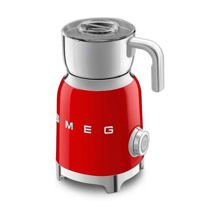 تصویر کف شیر ساز اسمگ مدل MFF01 رنگ قرمز