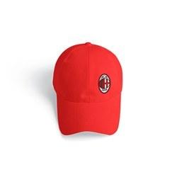 تصویر کلاه کتان قرمز آث میلان
