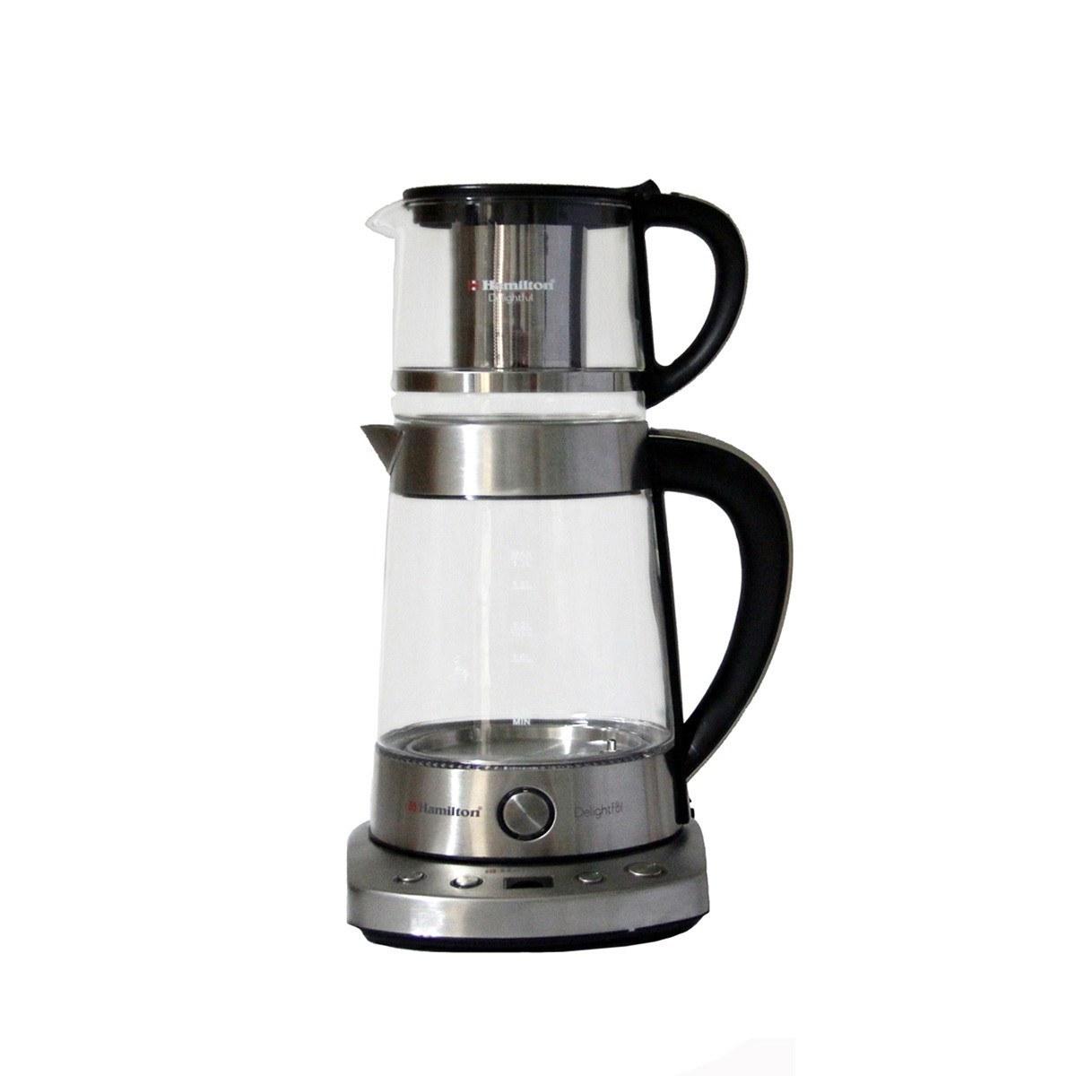تصویر چای ساز همیلتون مدل Hts-999 Tea Maker Hamilton HTS-999