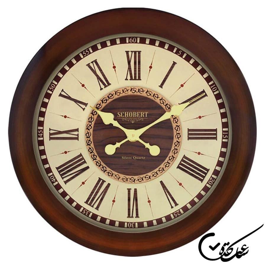تصویر ساعت دیواری شوبرت مدل ۵۲۱۵ B کلاسیک