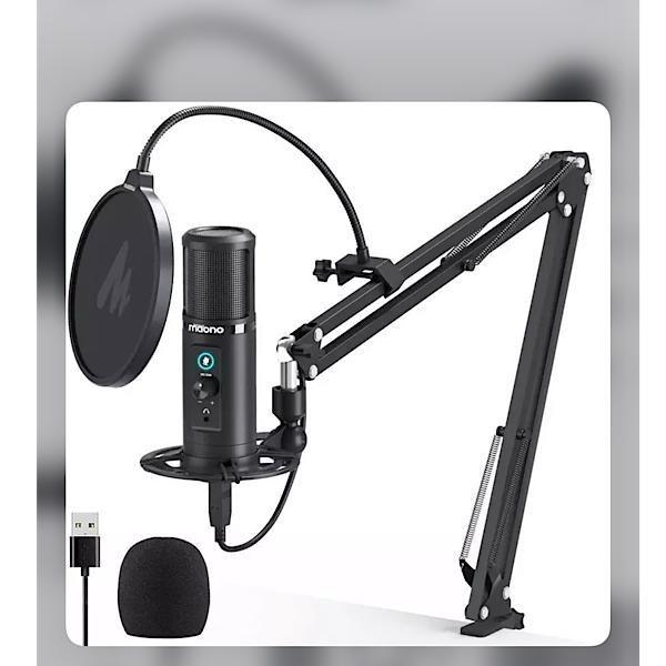 تصویر میکروفون استودیویی ماونو MAONO مدل PM422 آکبند