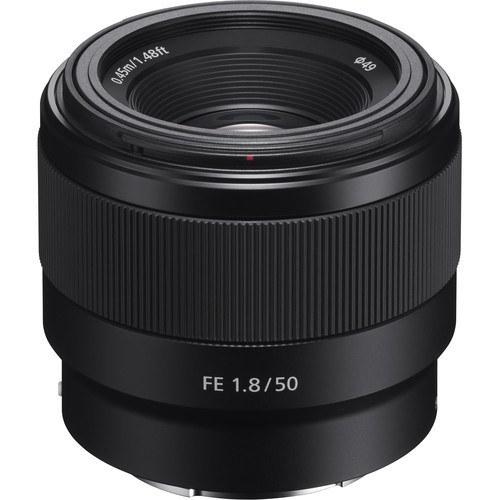 تصویر لنز دوربین سونی مدل FE 50mm F1.8 Sony FE 50mm f/1.8 Lens