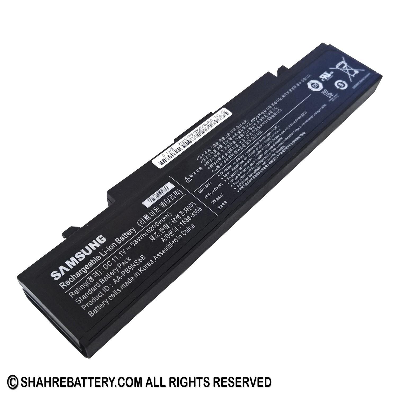 تصویر باتری اورجینال لپ تاپ سامسونگ Samsung R468 R580 Samsung R468 R580 Original Battery