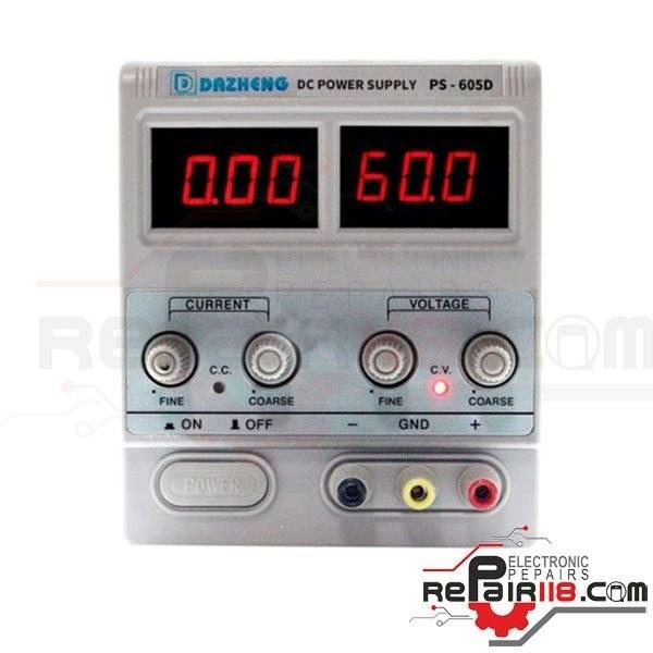 منبع تغذیه داژنگ PS-605D | منبع تغذیه Dazheng PS-605D |