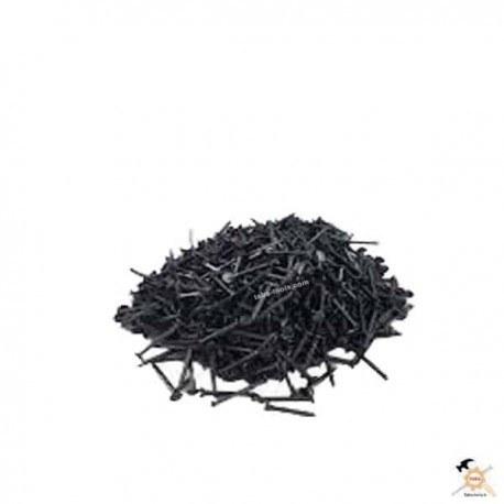 تصویر میخ کفاشی سیاه بنفش سایز 1 اینچ بسته 450 گرمی