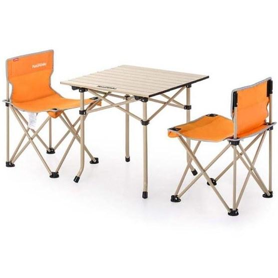 میز و صندلی سفری نیچرهایک مدل NH۱۷Z۰۰۲-S