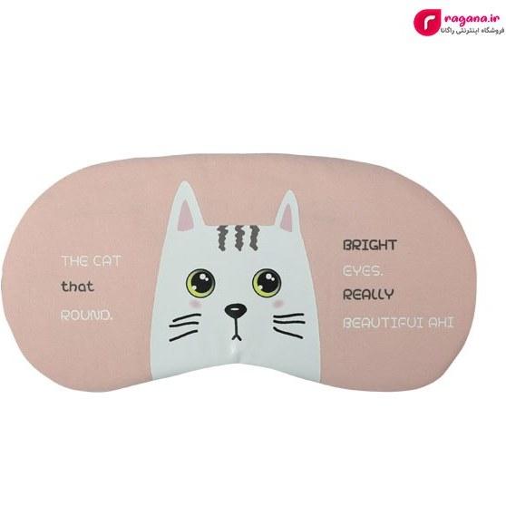 تصویر چشم بند کمپرس دار طرح گربه کد R231023