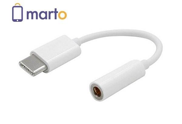 مبدل USB Type-C به جک 3.5 ميلي متري