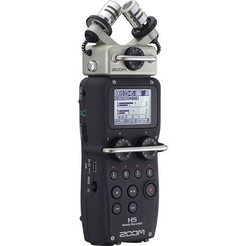 تصویر رکوردر ضبط کننده صدا دستی زوم مدل H5 Zoom H5