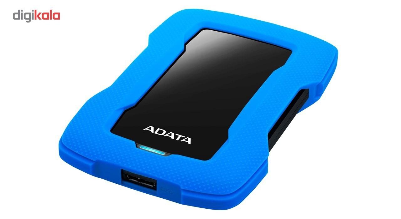 تصویر هارد اکسترنال ای دیتا مدل HD330 ظرفیت 5 ترابایت ا ADATA HD330 External Hard Drive 5TB ADATA HD330 External Hard Drive 5TB