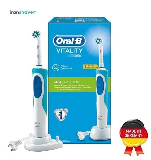 مسواک برقی اورال-بی مدل Vitality Cross Action | Oral-B Vitality Cross Action Electric Toothbrush