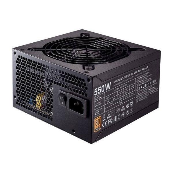 image Cooler Master MasterWatt 550W 80Plus Bronze Power Supply