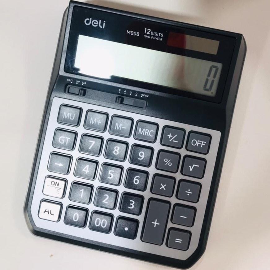 تصویر ماشین حساب deli دلی مدل EM00720