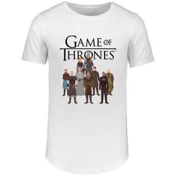 تی شرت مردانه طرح Game of thrones کد 15883  