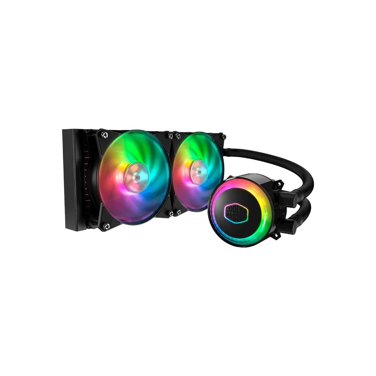 خنک کننده مایع پردازنده کولر مستر ML120R RGB