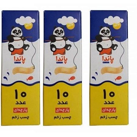 چسب زخم پاندا مدل First Aid Plaster مجموعه 30 عددی