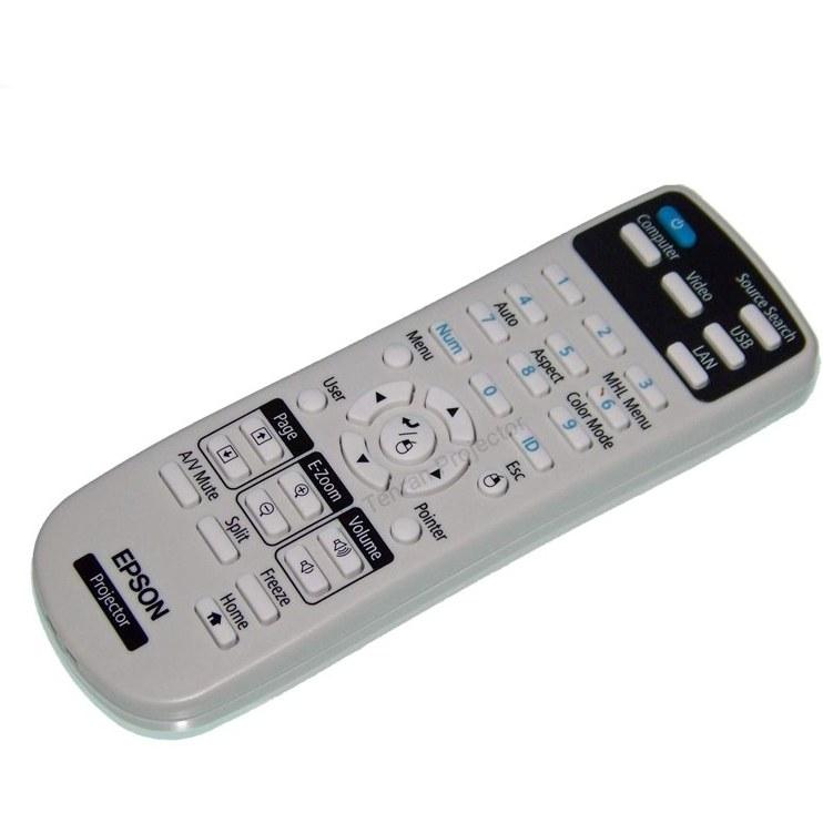 تصویر ریموت کنترل ویدئو پروژکتور اپسون کد 1 – Epson remote control
