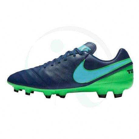 کفش فوتبال نایک تمپو جنیو Nike Tiempo Genio II Leather FG 819213-443