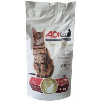 غذای خشک گربه آدی کت مدل super premium  وزن 4 کیلوگرم |