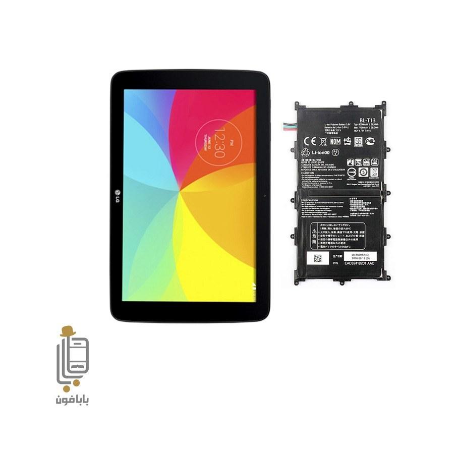 تصویر باطری تبلت LG G Pad 10.1 مدل BL-T13