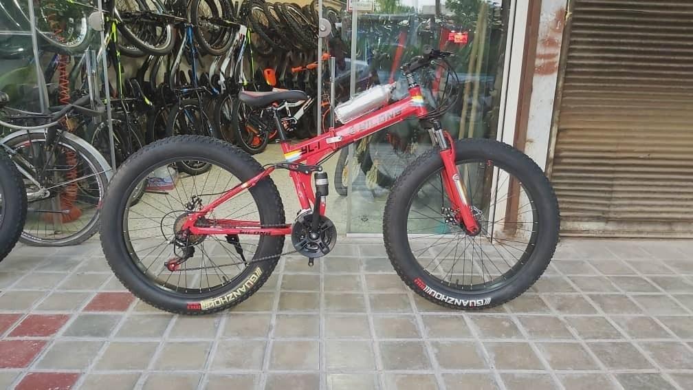 تصویر fst bike دوچرخه ساحلی تاشو سایز 26
