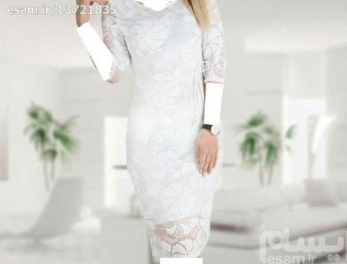 لباس مجلسی شیک رنگ یاسی