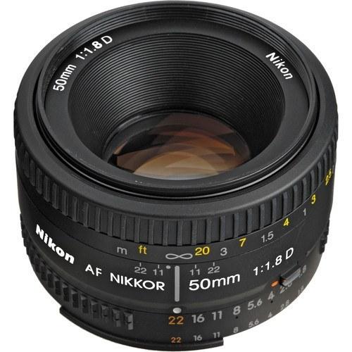 لنز نیکون مدل Nikon NIKKOR 50mm f/1.8D AF Lens