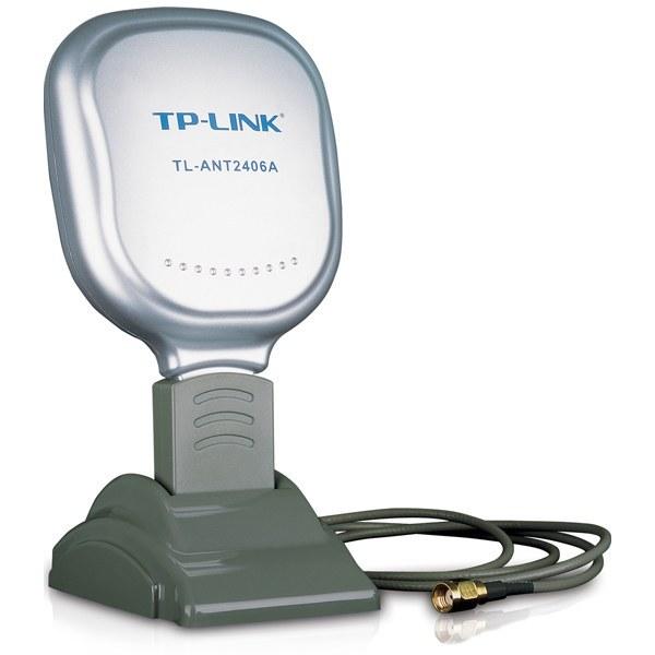 تصویر آنتن تقويتي تي پي لينک مدل TL-ANT2406A ا TP-LINK TL-ANT2406A 2.4GHz 6dBi Indoor Directional Antenna TP-LINK TL-ANT2406A 2.4GHz 6dBi Indoor Directional Antenna