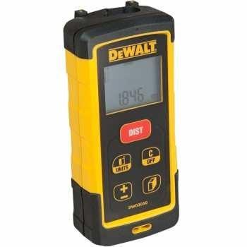 تصویر ابزار سنج لیزر DEWALT، 165 فوت (DW03050) - قطع شده توسط Mfr DEWALT Laser Measure Tool/Distance Meter, 165-Feet (DW03050) - Discontinued by Mfr