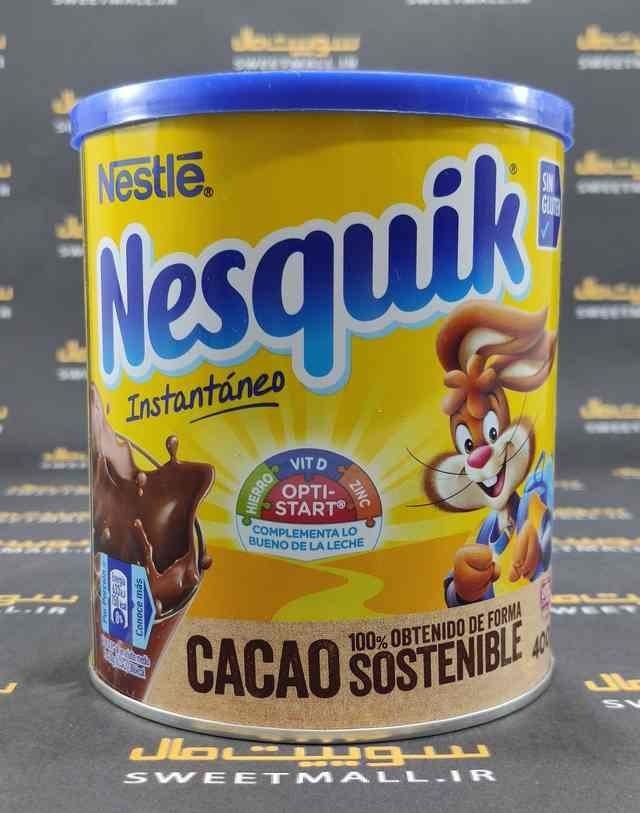 تصویر پودر کاکائو نسکوئیک 400 گرم Nesquik