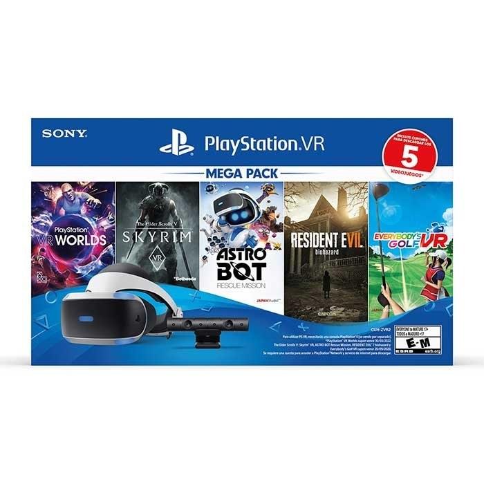 تصویر عینک واقعیت مجازی سونی مدل PlayStation VR Worlds ا کد محصول: PlayStation VR Worlds کد محصول: PlayStation VR Worlds