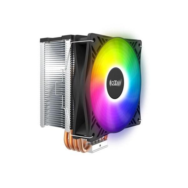 image خنک کننده پردازنده پی سی کولر مدل GI-X4S SRGB PCcooler GI-X4S SRGB CPU Cooler