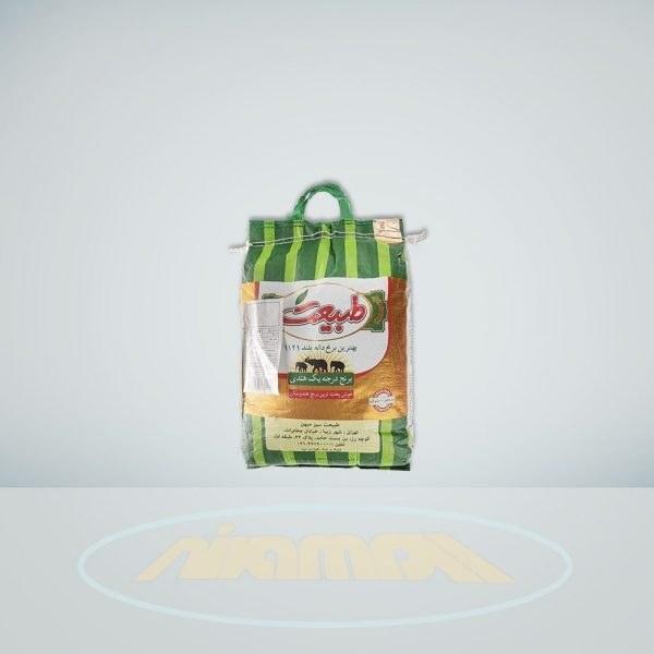 تصویر برنج طبیعت مقدار 10 کیلوگرم Tabiat Rice 10 kg