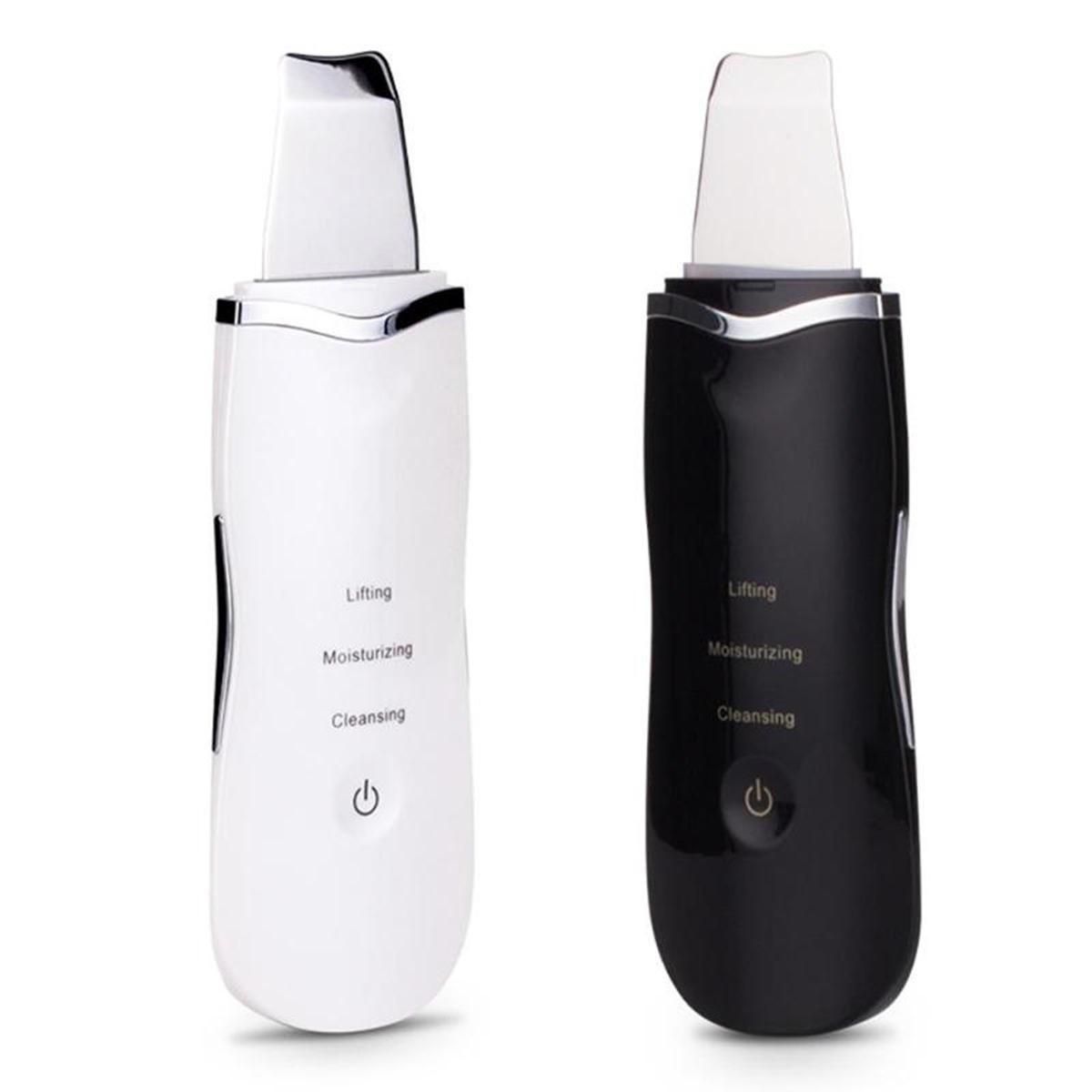 تصویر دستگاه پاکسازی صورت اولترا سونیک مدل 0w7 - رنگ سفید Ultra Sonic Cleaning Skin 0w7