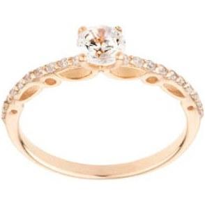 انگشتر طلا 18 عیار زنانه مدل AN0181027 |