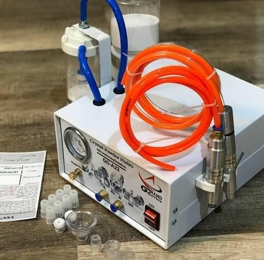تصویر دستگاه هیدرو میکرودرم آبریژن پودری جدید