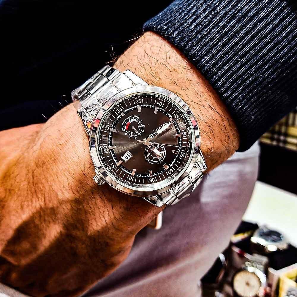 تصویر ساعت مچی عقربه ای مردانه والار مدل ++WGO241