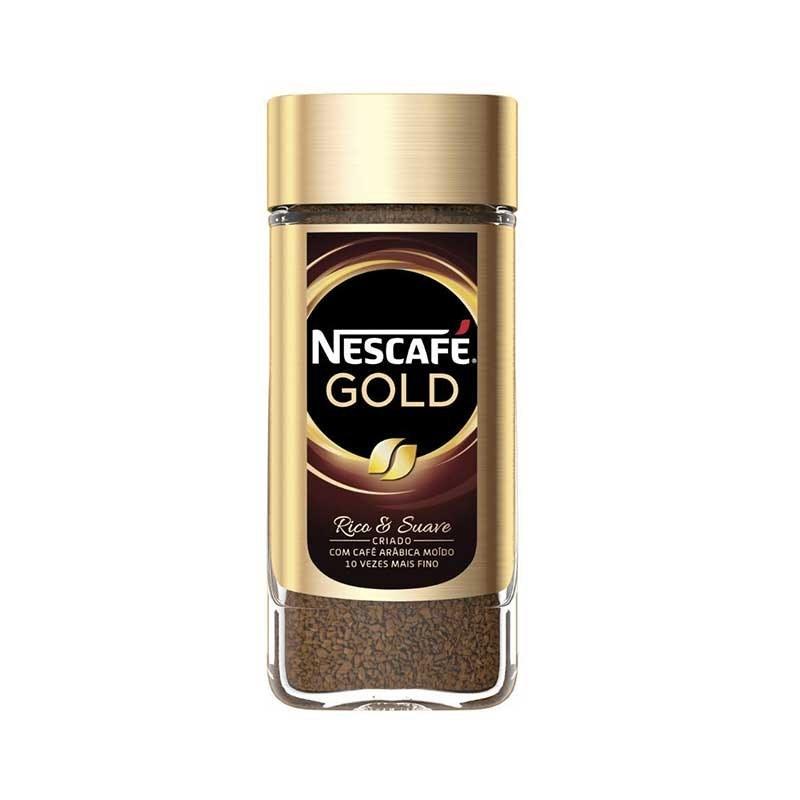 تصویر قهوه فوری نسکافه گلد50گرمیNescafe gold Nescafe gold coffee 50gr