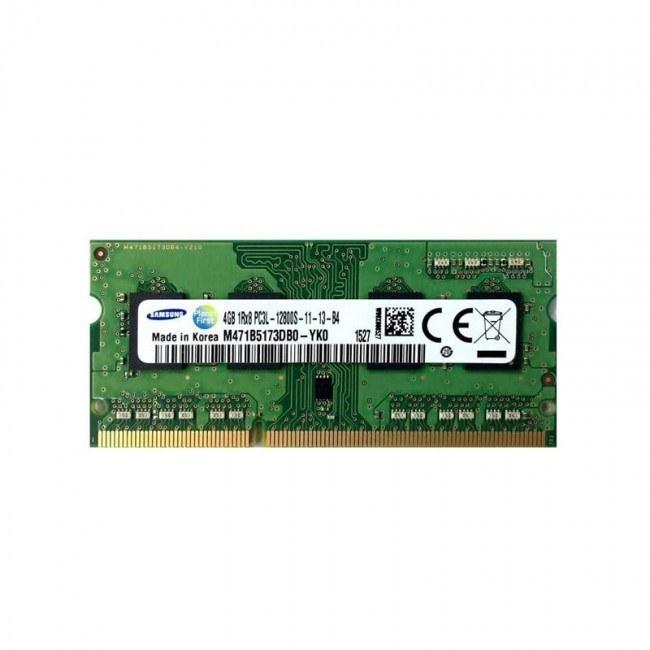 رم لپ تاپ سامسونگ مدل DDR3L 1600MHz ظرفیت 4 گیگابایت |