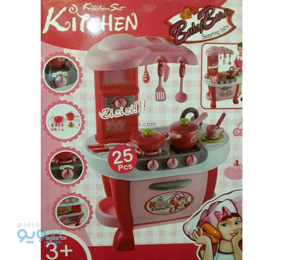 وسایل آشپزخانه اسباب بازی Baby Born |