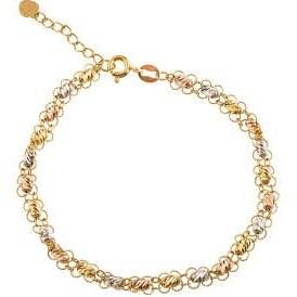 دستبند طلا 18 عیار زنانه کد B142 |