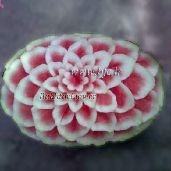 تزئین هندوانه ویژه شب یلدا  