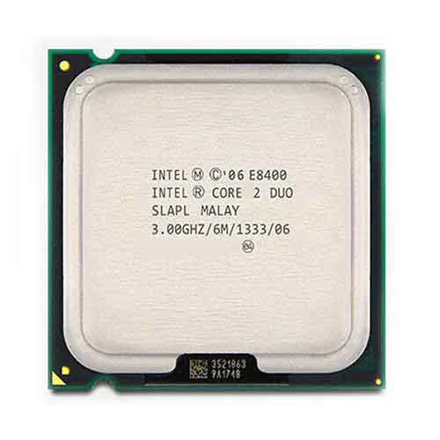 پردازنده مرکزي اينتل مدل Core™2 Duo E8400   Intel® Core™2 Duo Processor E8400