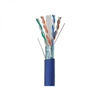 کابل شبکه لگراند Cat6 FTP مس روکش PVC حلقه 305 متری |