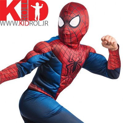 لباس مرد عنکبوتی عضلانی - سرهمی