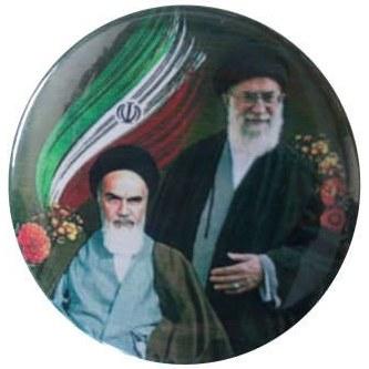 پیکسل طرح تصویر امام خمینی و رهبر مدل p153