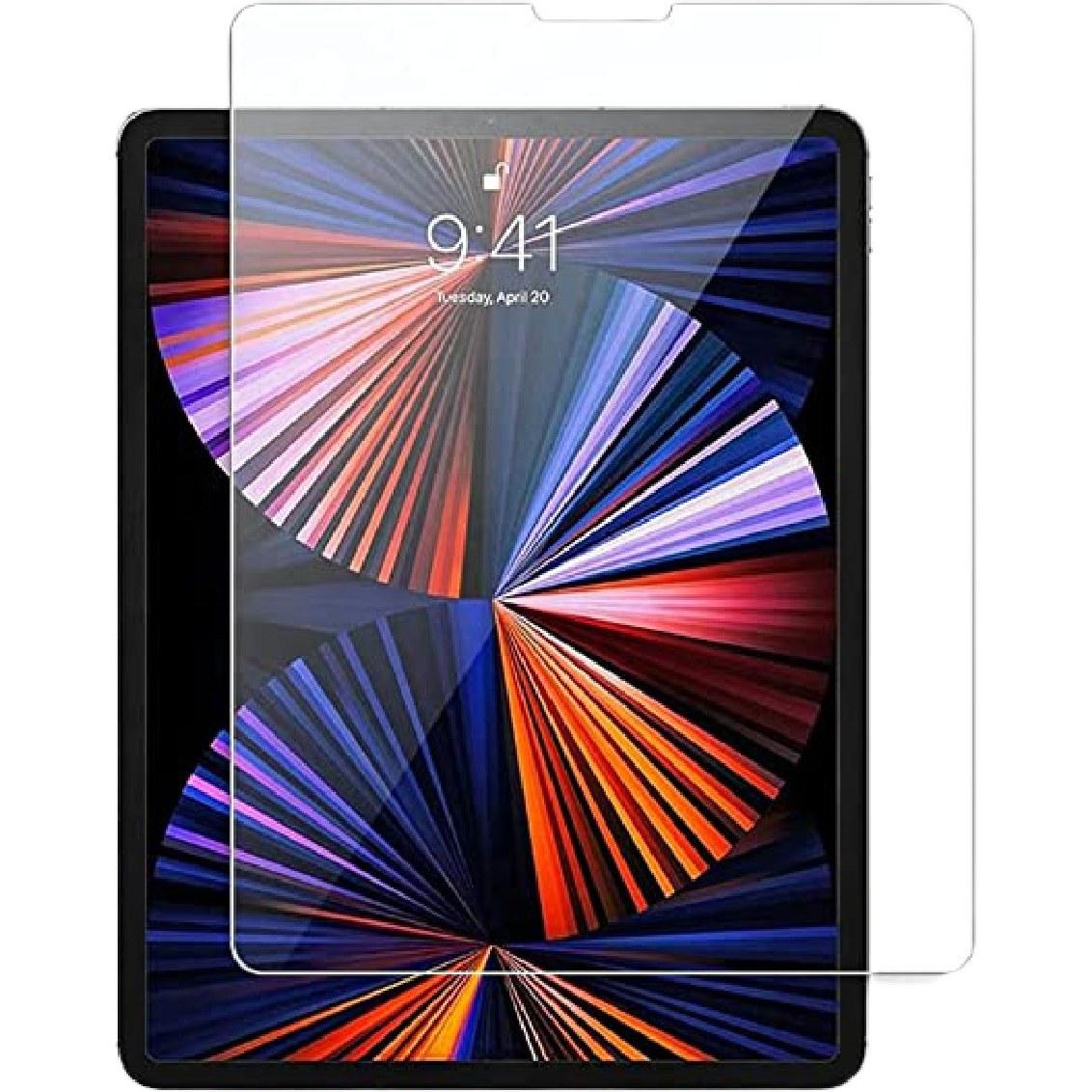تصویر محافظ صفحه نمایش شیشه ای  مناسب برای تبلت آیپد پرو 11 اینچی مدل 2021