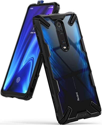 Ringke Fusion X Design Compatible with Xiaomi Mi 9T, Mi 9T Pro Case, Redmi K20, K20 Pro Case, Pocophone F2, F2 Pro Case Cover - Black